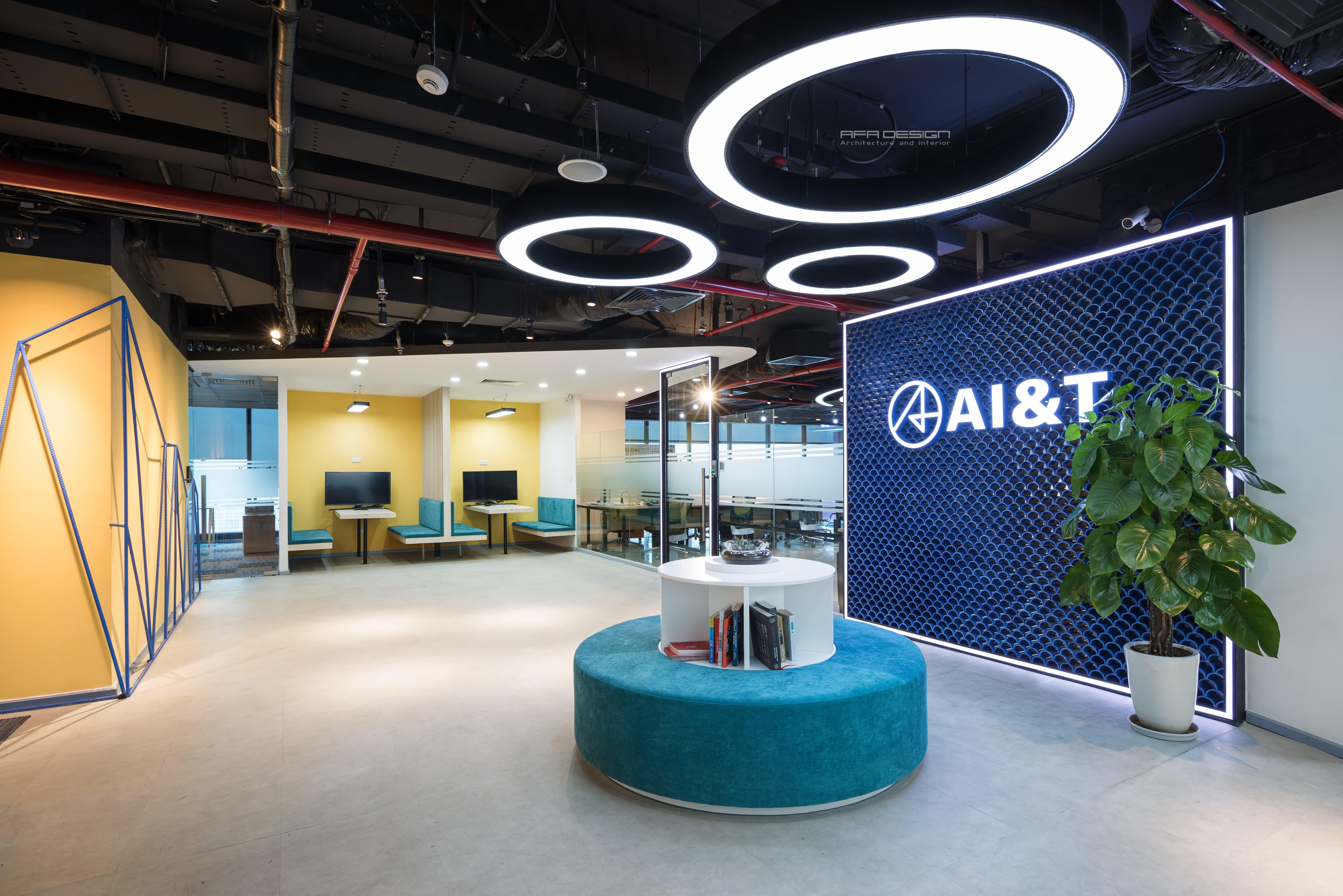 Văn Phòng công ty công nghệ AI&T