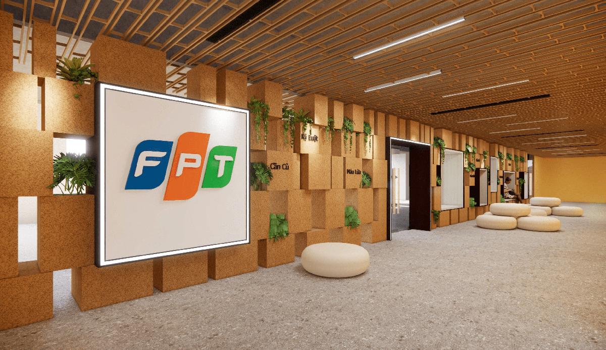 Đất - chất liệu truyền thống làm nguồn cảm hứng cho văn phòng hiện đại Ftel