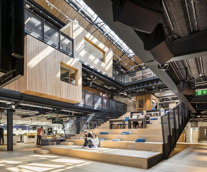 Vẻ đẹp và phong cách không thể trộn lẫn của 9 văn phòng công ty công nghệ đẹp nhất thế giới