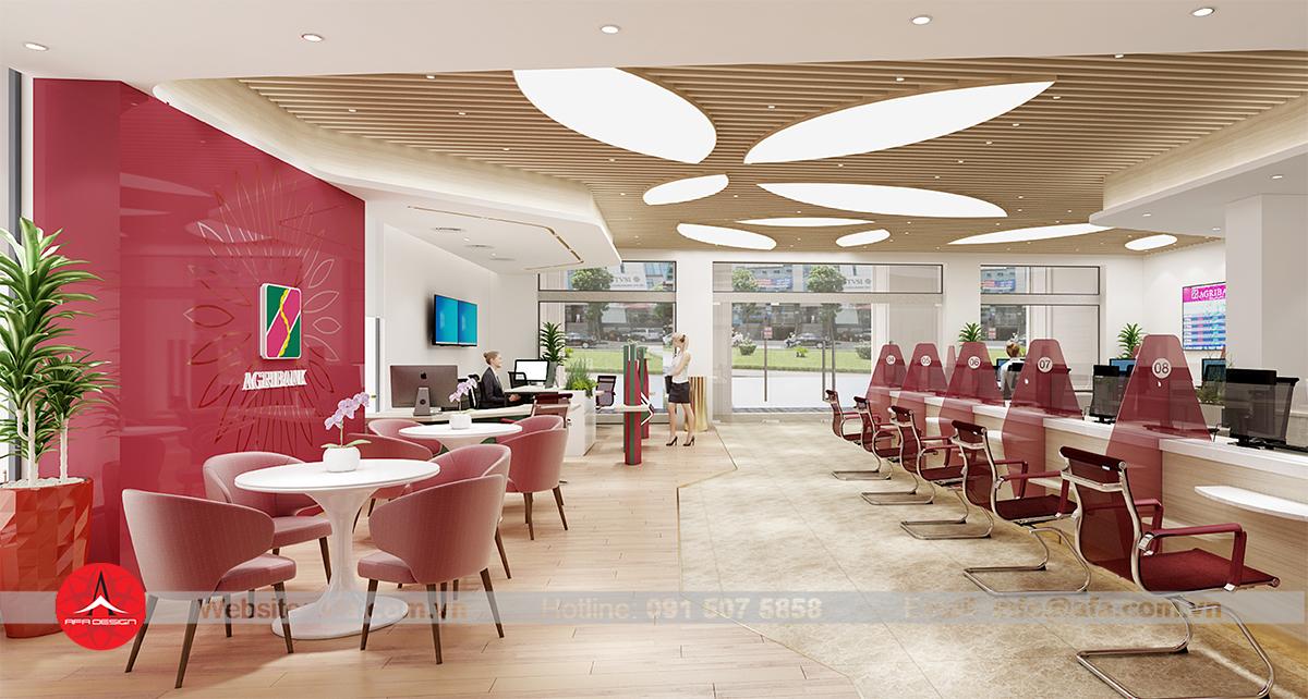 Văn phòng Agribank - Cuộc cách mạng về tư tưởng thiết kế văn phòng ngành ngân hàng