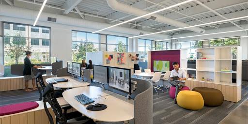 Ý tưởng thiết kế nội thất văn phòng đảm bảo an toàn trong giai đoạn giãn cách