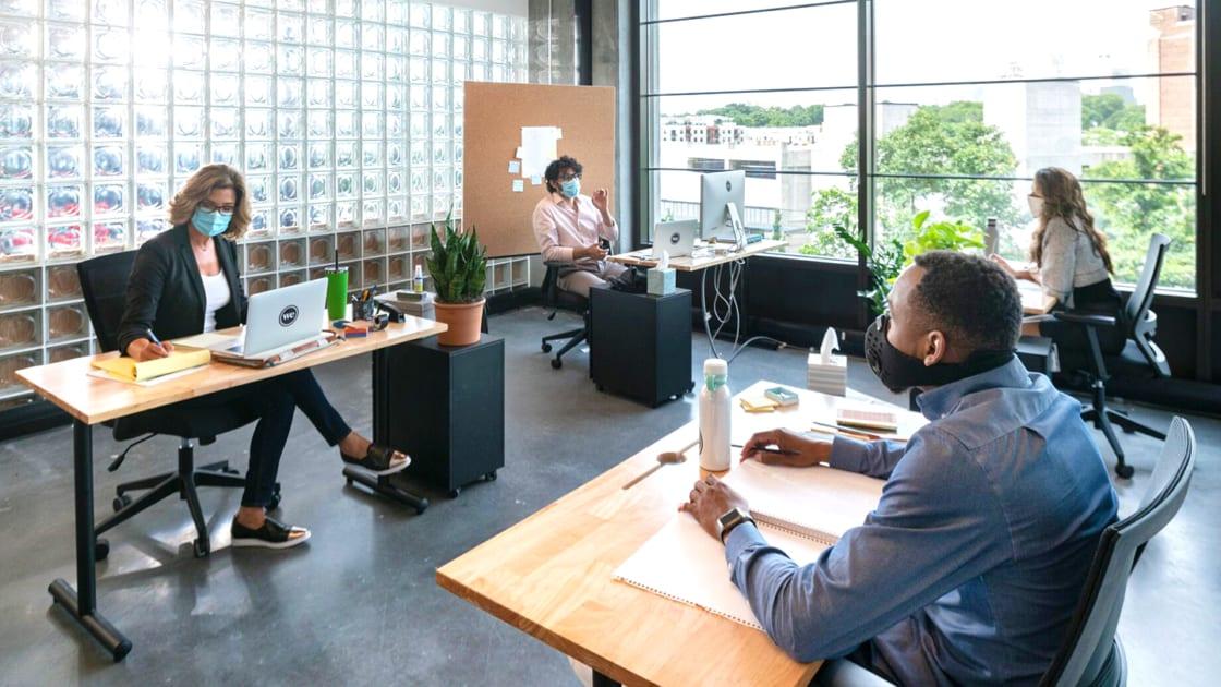 Làm thế nào để đảm bảo phòng tránh dịch an toàn nếu văn phòng của bạn nằm trong tòa nhà kín?