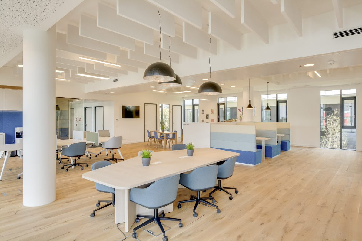 THE ART OF WORKING SPACE: TRENDS OF THE FUTURE