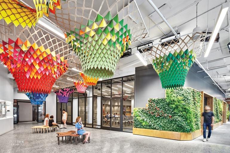 Mẫu văn phòng xanh nổi trội và đang được ưa chuộng trên thế giới
