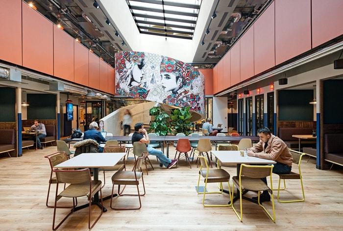 6 thiết kế nội thất văn phòng coworking thu hút sự chú ý p2